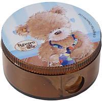 """Точилка круглая, с контейнером """"Popcorn Bear"""""""