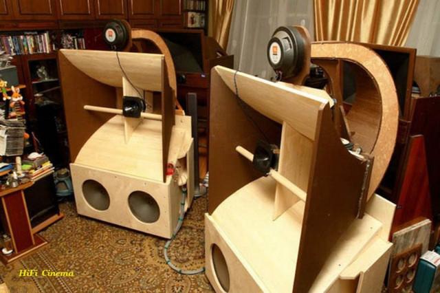Рупорные акустические системы Звуковые