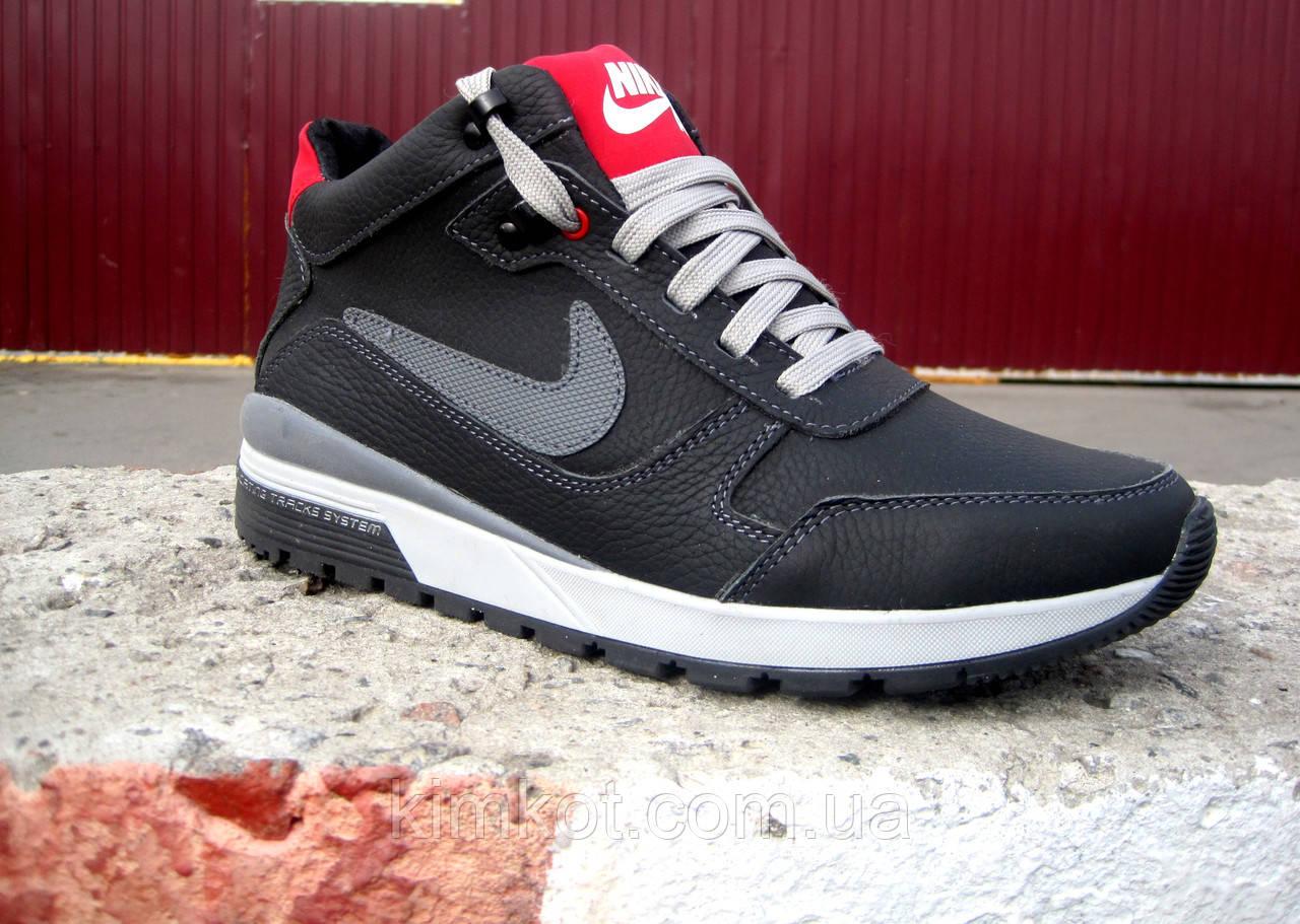 Зимние кожаные мужские кроссовки Nike   продажа 489ccd7638c1f