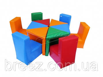 Комплект детской мебели  Цветик KIDIGO, фото 2