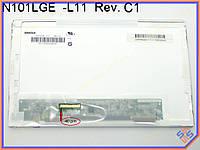 """Экран, дисплей 10.1"""" Hannstar HSD101PFW2 B00 (1024*600, 40pin слева, LED Normal, Матовая)"""
