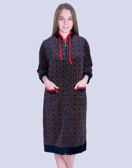 534b90e981e7d Женский велюровый халат WILD LOVE: продажа, цена в Хмельницком ...