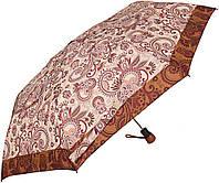 Элегантный зонт для женщин полуавтомат антиветерAIRTON (АЭРТОН) Z3635-7, бежевый