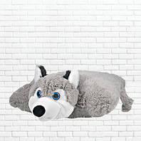 Детская подушка-складушка, волченок