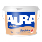 Структурная краска Aura Dekor Struktur Аура Декор Структур 10л