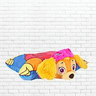 Детская подушка-складушка, скай, щенячий патруль