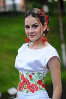 Корсет в украинском стиле