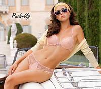 Кружевной комплект белья Leilieve желтого и розового цвета
