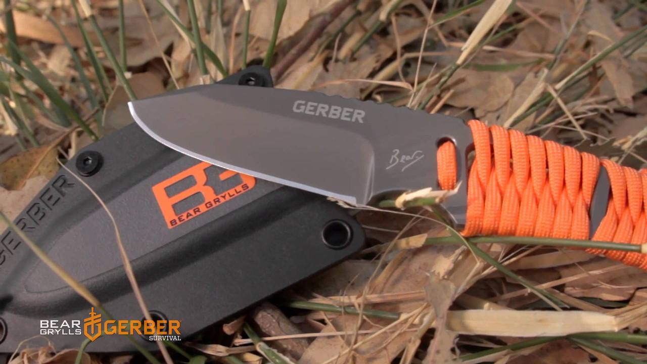 """Нож для выживания Gerber Bear Grylls Survival Paracord - Интернет магазин """"Храмцова"""". Доверие формировалось годами в Харькове"""