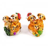 Статуэтки сувенирные Собака упаковка 4 шт