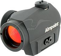 Коллиматорный прицел Aimpoint Micro S-1 6МОА в комплекте с креплением на вент. прицельную планку