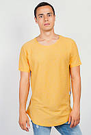 Футболка мужская светлая удлиненная AG-0003672 Желтый