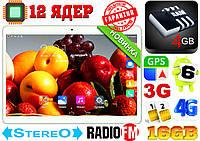 Новый планшет телефон Samsung N900,12 ядер , 10.1'', 4Gb RAM, GPS, 2 sim, 3G/4G + чехол в подарок