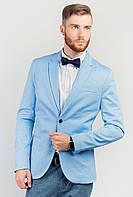Пиджак мужской летний AG-0003737 Голубой