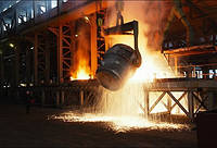Выплавка стали в Украине достигла в сентябре 8-месячного максимума