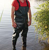 Комбинезон рыбацкий с наколенниками на ПВХ сапоге