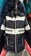 Стильная удлиненная куртка для мальчика хит продаж