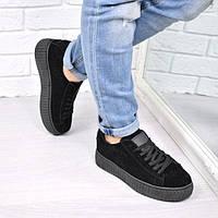 Кроссовки криперы Kreeper черные 3680 36 размер, спортивная обувь