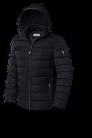 Зимняя куртка с капюшоном черный, 48