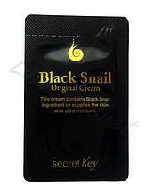 Крем с экстрактом черной улитки Secret Key Black Snail Original Cream, Пробник