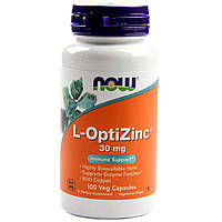 NOW Foods L-OptiZinc 30 mg 100 caps