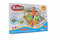 Коврик для младенца с дугами и подвесными игрушками
