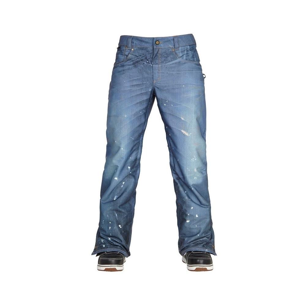 686 брюки Parklan Deconstructed Denim 2017