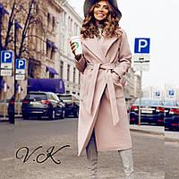Красивое женское пальто на осень