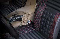 Автомобильная подушка под спину (массажная, ортопедическая)