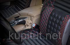 Автомобильная подушка под спину (массажная, ортопедическая) с функциею вибромассажа