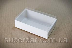 Коробка для цукерок з прозорою кришкою 95*60*30 мм.