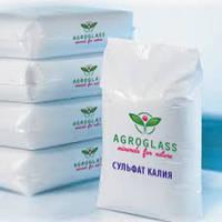 """Сульфат калия Agroglass """"Украина"""" (сернокислый), 25кг, Калийное серосодержащее удобрение"""