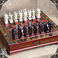 Шахматы антиквариат (столиком), фото 1
