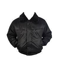 Куртка для охраны утепленная с капюшоном