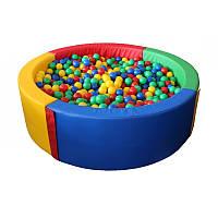 Сухой бассейн круглый