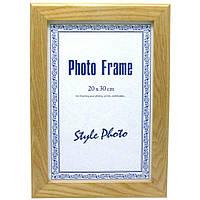 Фоторамка деревянная для сертификатов, грамот