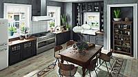 Кухня RODA СЕВИЛЬЯ: из МДФ толщиной 22 мм и покрытый с обеих сторон слоем краски и защитным полуматовым лаком