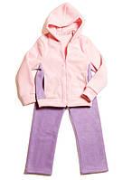Детский флисовый костюм для девочки, рр 116-158