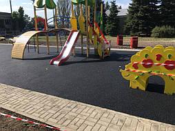 Устройство бесшовного покрытия для детской площадки 16