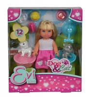 """Кукольный набор Эви """"Домашние любимцы"""" с аксес., 3+"""