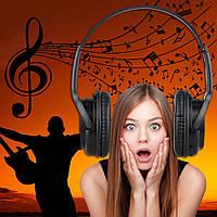 Наушники Bluetooth беспроводные+mp3(SD карта)+FM+аудио3.5