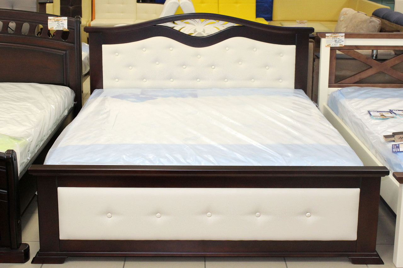 Кровать ортопедическая деревянная