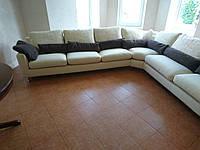 Замена ткани углового дивана