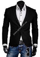 Пиджак приталенный 3246 (s-xl) чёрный