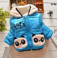 Демисезонная куртка для мальчика. 80, 90, 100 см