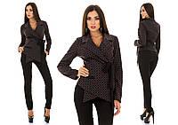 Женский костюм необычный  пиджак + брюки