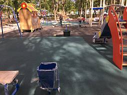 Травмобезопасное покрытие для детской площадки 3