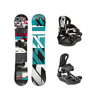 Сноуборд комплект Volkl Spade + Fastec Vision Black 2017