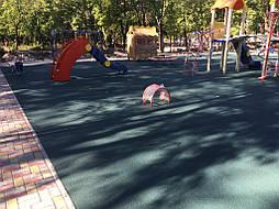 Травмобезопасное покрытие для детской площадки 6