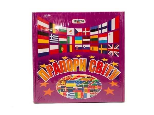 Настольная игра Флаги мира 648 Strateg
